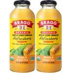 Bragg Organic Apple Cider Vinegar Beverage Honey & Green Tea 16 oz.