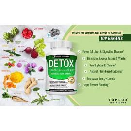 Detox Cleanse Liver Colon Cleanser