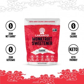 Lakanto Monkfruit Sweetener 8.29 oz.