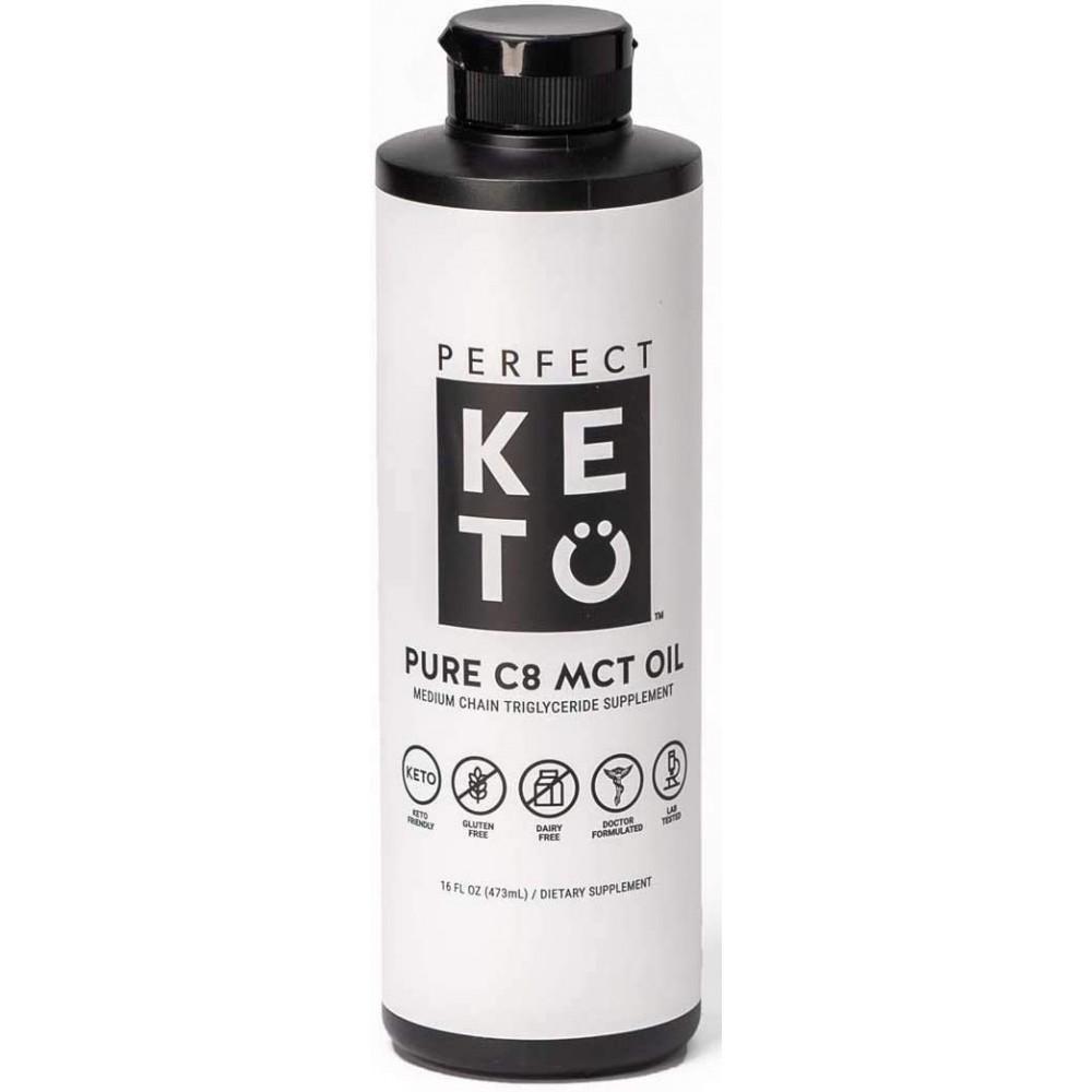 Perfect Keto MCT Oil 16 oz.