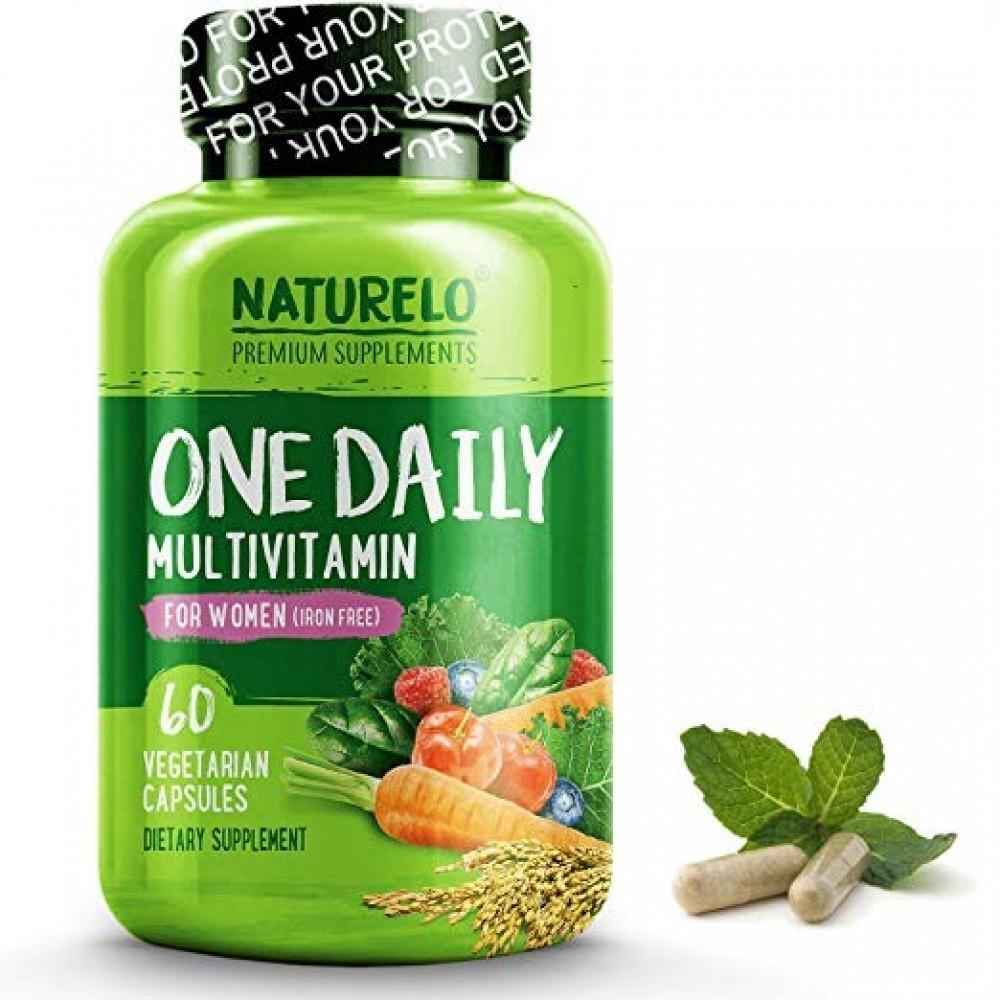 NATURELO One Daily Multivitamin for Women  60 caps