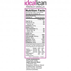 IdealLean Protein - French Vanilla 30 Serving