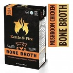 Mushroom Chicken Bone Broth Soup by Kettle and Fire 16 oz.