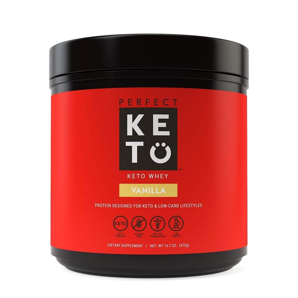 Perfect Keto Whey Protein Vanilla